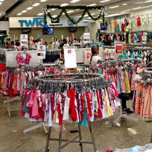 Twig a mega loja do Brás com moda a preço de atacado.