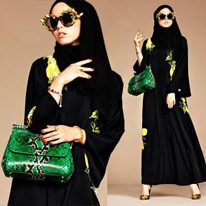 Hijabs e abayas por Dolce & Gabbana