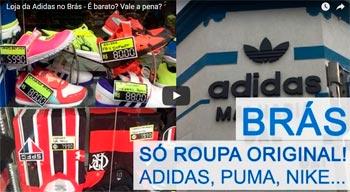 Loja da Adidas no Brás – É barato? Vale a pena?