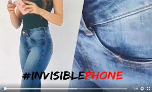 Bokker Jeans lança Invisible Phone