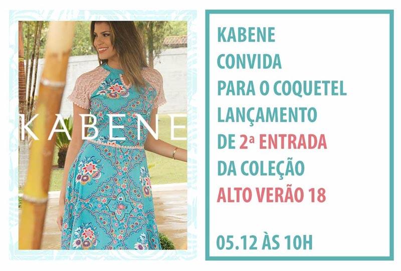 Kabene Jeans alto verão 2018
