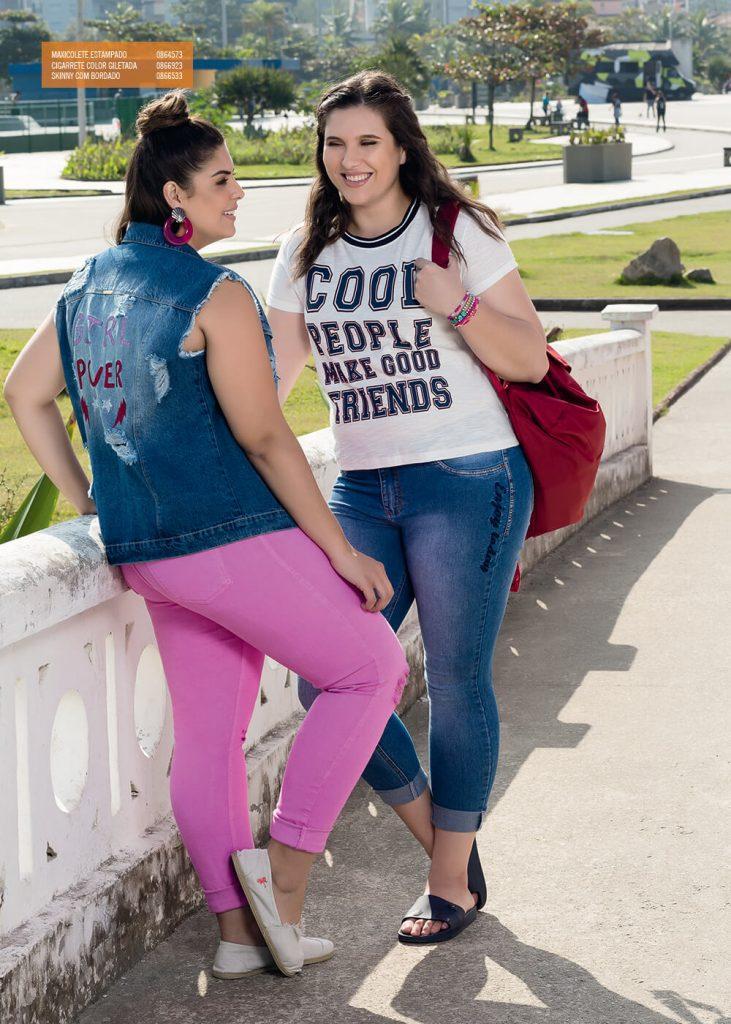 Mix Jeans coleção Plus Size Primavera Verão 2018