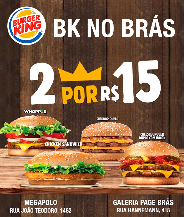 Burger King no Brás