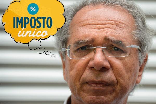 Ministro Paulo Guedes e o imposto nas compras do comércio eletrônico.