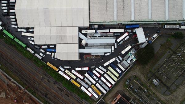 Nova Feira da Madrugada no Brás inaugura em 2021 com Estacionamento para mais de 315 Ônibus com vaga entre e sai
